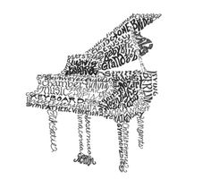 Musical Words Piano