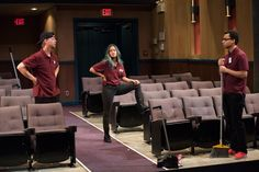 Arts Club Theatre's The Flick: Playing offscreen at a theatre near you | #Vancouverscape