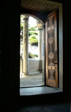 Topkapi, Baghdad Pavillion, View from Interior, Istanbul, Turkey by David, via Flickr
