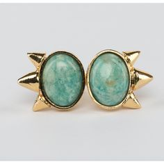 // Vergara Collection - Turquoise Eyes Ring - DANIELA SALCEDO Turquoise Eyes, Ring Designs, Gemstone Rings, Jewels, Gemstones, Collection, Jewerly, Gems, Minerals