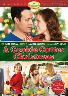 """Its a Wonderful Movie - Your Guide to Family Movies on TV: """"A Cookie Cutter Christmas"""", a Hallmark Channel Christmas Movie starring Erin Krakow Xmas Movies, Best Christmas Movies, Hallmark Christmas Movies, Hallmark Movies, Family Movies, Good Movies, Holiday Movies, Christmas 2014, Christmas Classics"""