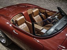 Eagle make Jaguar E-Types what they should have been. This is a photo gallery of the Eagle E-Type Speedster Maserati, Ferrari, Bugatti, Jaguar E Type, Jaguar Cars, Jaguar Xj, Auto Motor Sport, Sport Cars, Porsche 911