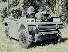 XUVシステム。米国バージニア州に本社を置くジェネラル・ダイナミクスが陸軍との契約に基づいて制作した無人実験ビーグル。険しい地形上でも自動走行が可能な設計だったとのこと。あくまで実験・実証用のシステムだった。