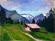 Savoy Alps, 1901 / Henri Matisse