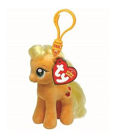 Loving this My Little Pony Apple Jack Plush Clip on  zulily!  zulilyfinds My 48066891e6c2