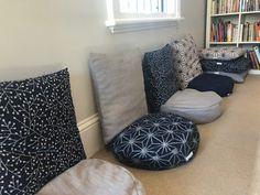 Custom made eco friendly meditation cushions for Tim Brown meditation studio in Paddington Sydney. Made in Sydney by Mandala Living. Meditation Center, Meditation Cushion, Home Health, Health And Wellbeing, Own Home, Home And Living, Bean Bag Chair, Sydney, Eco Friendly