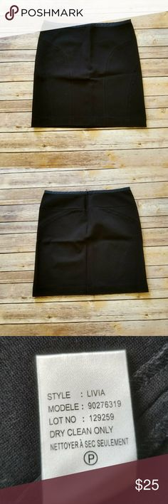 THEORY Black Mini Skirt Black Mini Skirt from THEORY. In excellent condition. Measurements:  Waist 14' Length 17' Theory Skirts Mini