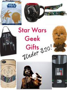 """10 Star Wars Geek Gifts You Need for """"May the 4th"""" , all under $20! #StarWarsDay"""