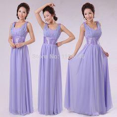"Chiffon New Sleeveless Off the Shoulder V-neck Floor Length Bridesmaid Dresses Custom Made Plush Size $<span itemprop=""lowPrice"">38.99</span> - <span itemprop=""highPrice"">48.99</span>"