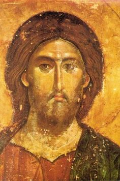 Ikonenmalerei - Christ the Redeemer / Icon painting Byzantine Icons, Byzantine Art, Religious Icons, Religious Art, Christus Pantokrator, Christ The Redeemer, Sacred Art, Christian Art, Tree Of Life