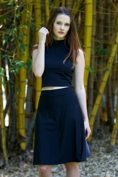 Living Dead Clothing - Matte Black Set - LIMITED, Top Size M, Skirt Size L (OWNED),