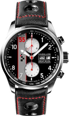 Raidillon Watch Racing Chronograph Limited Edition #add-content #bezel-fixed #bracelet-strap-leather #brand-raidillon #case-material-steel #case-width-42mm #chronograph-yes #date-yes #day-yes #delivery-timescale-call-us #dial-colour-black #gender-mens #limited-edition-yes #luxury #movement-automatic #new-product-yes #official-stockist-for-raidillon-watches #packaging-raidillon-watch-packaging #style-sports #subcat-racing #supplier-model-no-42-cat-155…