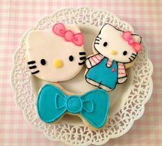 "Photo 11 of Hello Kitty / Birthday ""lilly grace turns Hello Kitty Theme Party, Hello Kitty Themes, Hello Kitty Birthday, Little Girl Birthday, Hello Kitty Cookies, Hello Kitty Cake, Cat Party, Childrens Party, Birthday Parties"