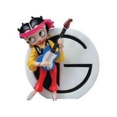 Betty Boop Figurines 6747 Letter G Everything Else
