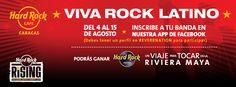 Cresta Metálica Producciones » Hard Rock Café quiere llevarte a la Riviera Maya para que vivas la experiencia como un Rockstar