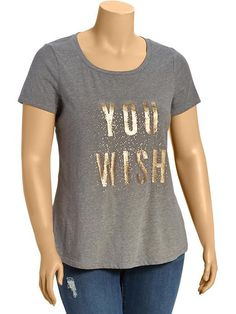 Women's Plus Holiday-Graphic Tees Product Image