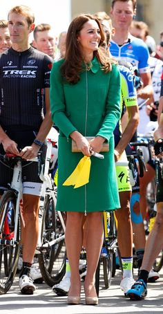 kate middleton tour de france erdem
