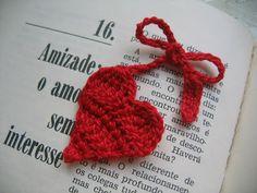 coração de croche
