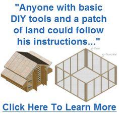 DIY Chicken Coop - Using Simple Tools