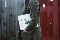 My favorite indie magazine of the moment - Kinfolk - just came out with their holiday issue!