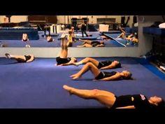 Mizzou Gymnastics Conditioning