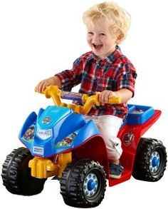PAW Patrol Power Wheels Lil' Quad Electric Ride on Kids Action Toy NEW Only 1 In Stock Order Today! Product Description: The Fisher-Price Power Wheels PAW Patrol Lil' Quad vehicle combines sporty ATV styling with awesome toddler friendly feat. Paw Patrol Tv Show, Paw Patrol Toys, Kids Power Wheels, Blaze The Monster Machine, Paw Patrol Coloring, Toddler Car, Kids Ride On, Ride On Toys, Outdoor Toys