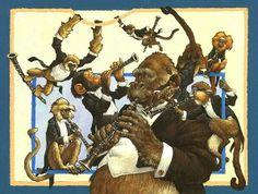 8 clarinets. By Scott Gustafson