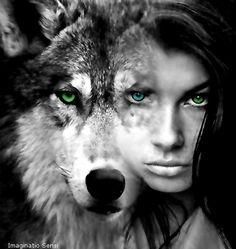 WOLF WOMEN by Ponthieu.deviantart.com on @DeviantArt