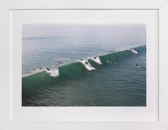 Wave on film by Danielle Elizabeth Guthrie at minted.com