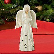 Angel with Cross Figurine by Lenox