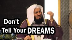 Why You Shouldn't Tell People about Your Plans & Dreams? By Mufti Menk - YouTube