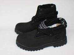 Timberland Men Boots Black,Fashion Winter Timberland Men Shoes,black roll top timberland boots