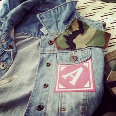 DIY jean vest for kids