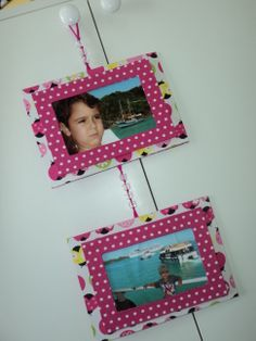 porta retratos em cartonagem