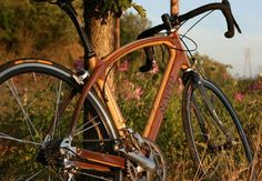 Beautiful New Wood Bikes From 'Locally' Sourced Wood