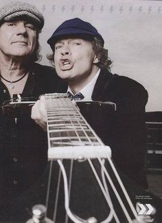 Angus Young & Brian Johnson