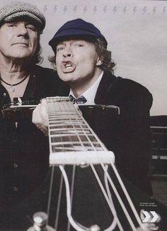 Angus Young & Brian Johnson