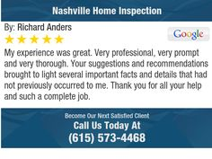 My experience was great. Very professional, very prompt and very thorough. Your...
