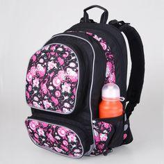 Topgal školní batoh CHI 169 A Black Backpacks, Bags, Fashion, Handbags, Moda, Fashion Styles, Backpack, Fashion Illustrations, Backpacker