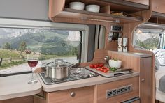 Cooking - Knaus, Caravans, Wohnwagen, Wohnmobile, Reisemobile: Infos zu Modellen, Qualität, Produktion, Technik, Innovatives News