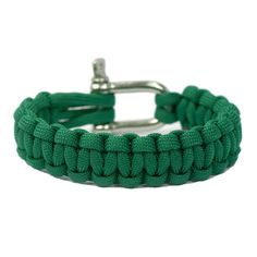 Kelly Green Super Strong and Durable Paracord Bracelet - Naimakka
