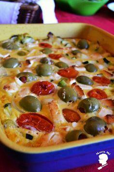 Receita: Frittata de Brócolos, Tomate e Feta