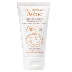 Buy Eau Thermale Avene Very High Protection Mineral Cream for Intolerant Skin and earn Advantage Card points on purchases. Beauty Haven, Eau Thermale Avene, French Skincare, Best Sunscreens, Cold Cream, Beauty Packaging, Chill Pill, Shopping, Health And Wellness