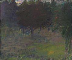 "Wolf Kahn (Born 1927), ""Trees Absorbing Light"""