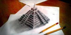 Aneka Gambar 3D Pensil Nan Realistis | WarnaGambar.com