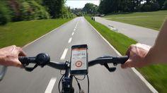 Magnetic iPhone 6 Bike Handlebar Mount with Protective case XVIDA #magnetic #iPhone6 #bike #cycling