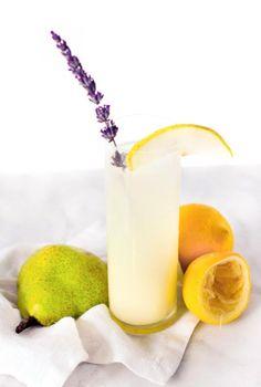 Vodka Pear Lavender Lemonade Recipe | Sugar & Cloth