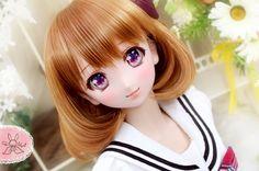 Chiffon*Rabbit|DDH-06*N肌カスタムヘッド+自作アイ(オークション) - Karinka - *No.395