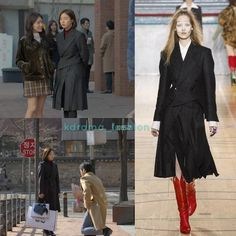 "RepostBy kdrama_fashion: ""Shin Se-Kyung wore VIVIENNE WESTWOOD Fall 2017 RTW Collection Asymmetric Double Breasted Blazer $1,650 and Slanted Pleats Skirt $905 in Black Knight Drama Episode 3. Photo credit to rightful owner. #shinsekyung #신세경 #흑기사 #드라마패션 #패션스타그램 #스타패션 #비비안웨스트우드 #viviennewestwood #kstyle #blackknight #shinsekyungstyle #junghaerastyle #kdrama_fashion #kdramastyle #kfashion #셀럽패션 #셀럽스타일 #연예인패션 #연예인착용 #신세경스타일 #신세경패션 #패션정보 #인스타그램 #kdrama_fashion_shinsekyung…"