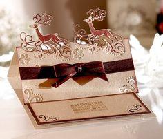 Christmas Edge'ables dies - Crafter's Companion #Diesire #Create-a-Card…